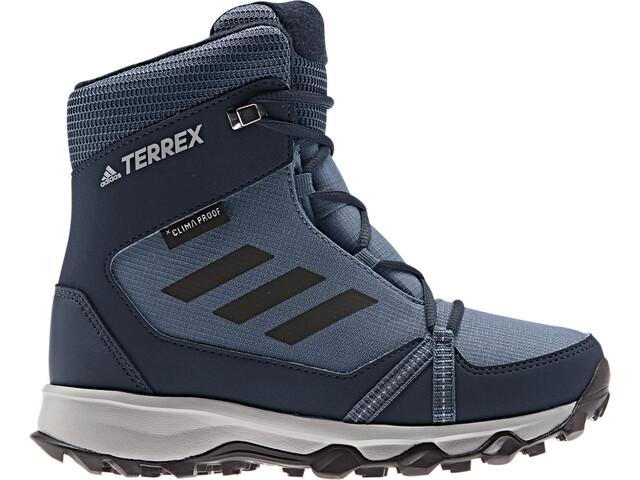 adidas TERREX Snow Climaproof Climawarm High-Cut Shoes Kids tech ink/core black/collegiate navy
